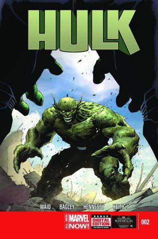 Hulk #2 (2nd Printing)