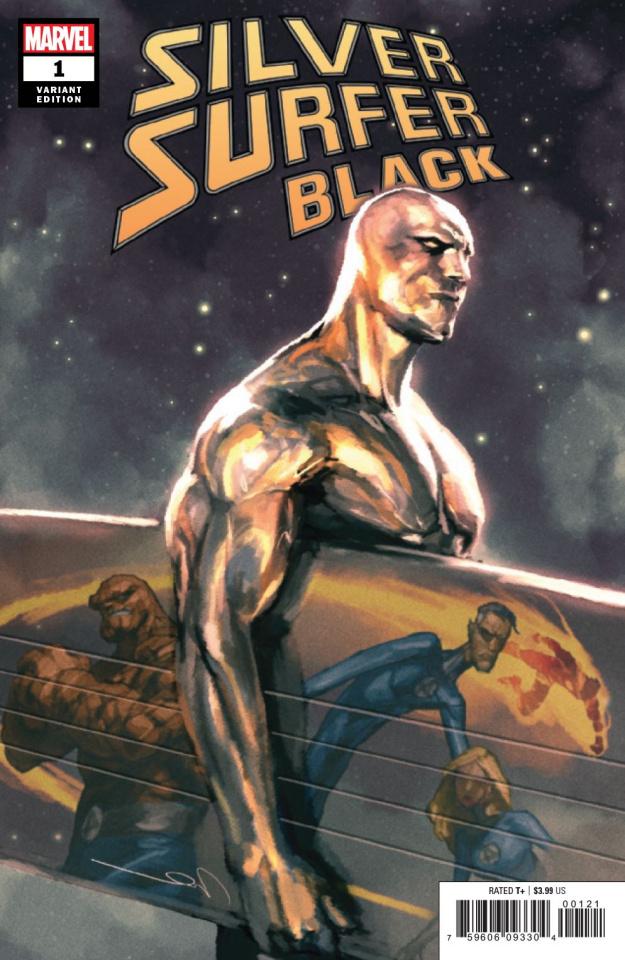 Silver Surfer: Black #1 (Parel Cover)