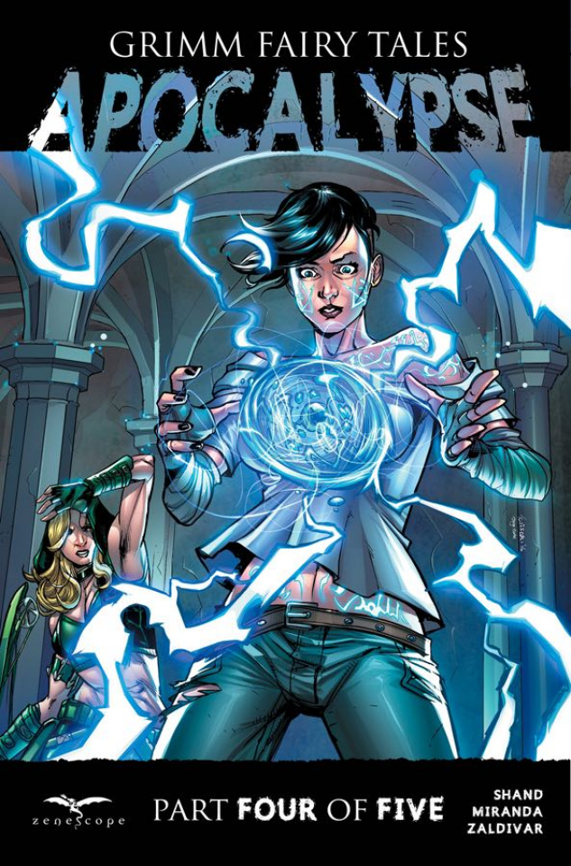 Grimm Fairy Tales: Apocalypse #4 (Cuffari Cover)