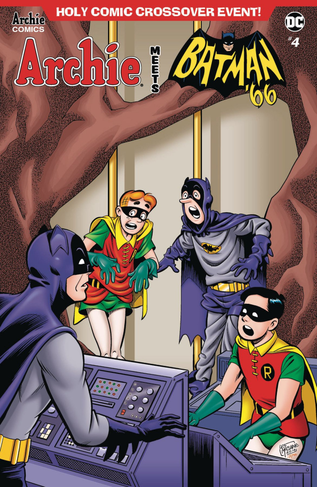 Archie Meets Batman '66 #4 (McClaine Cover)