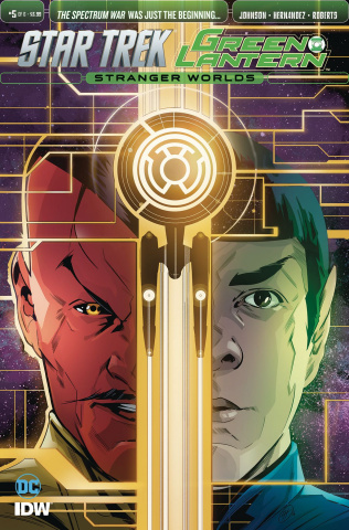 Star Trek / Green Lantern #5