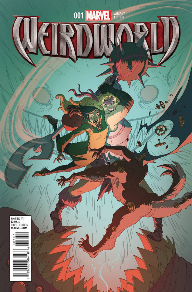 Weirdworld #1 (Rhodes Cover)