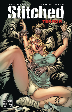 Stitched: Terror #2 (POV Cover)