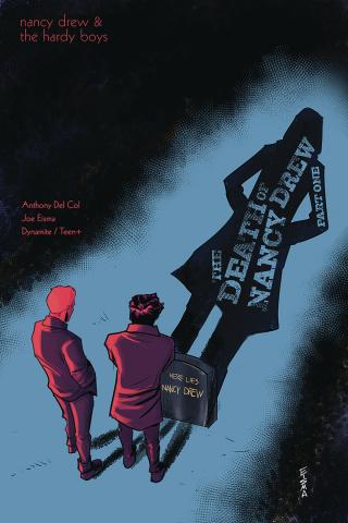 Nancy Drew & The Hardy Boys: The Death of Nancy Drew #1 (Eisma Cover)