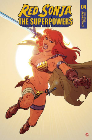 Red Sonja: The Superpowers #4 (Kano Cover)