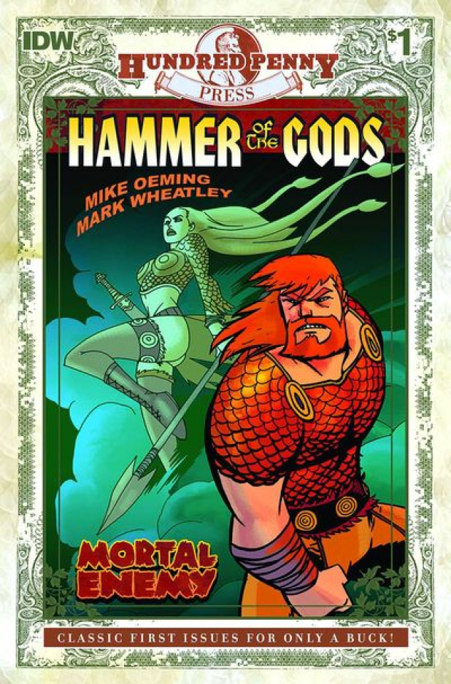 Hammer of the Gods #1 (100 Penny Press Edition)