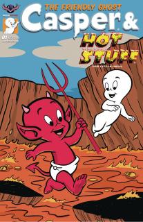 Casper & Hot Stuff #1 (Galvan Cover)