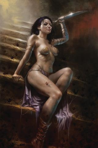 Dejah Thoris #4 (Parrillo Virgin Cover)