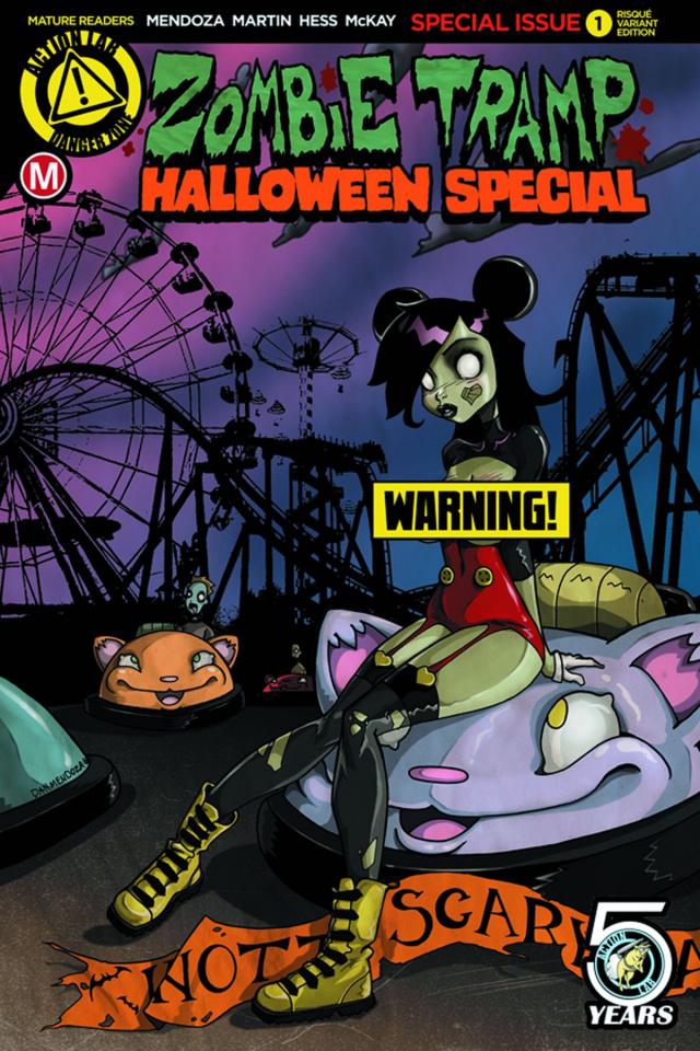 Zombie Tramp Halloween 2016 Special (Mendoza Risque Cover)