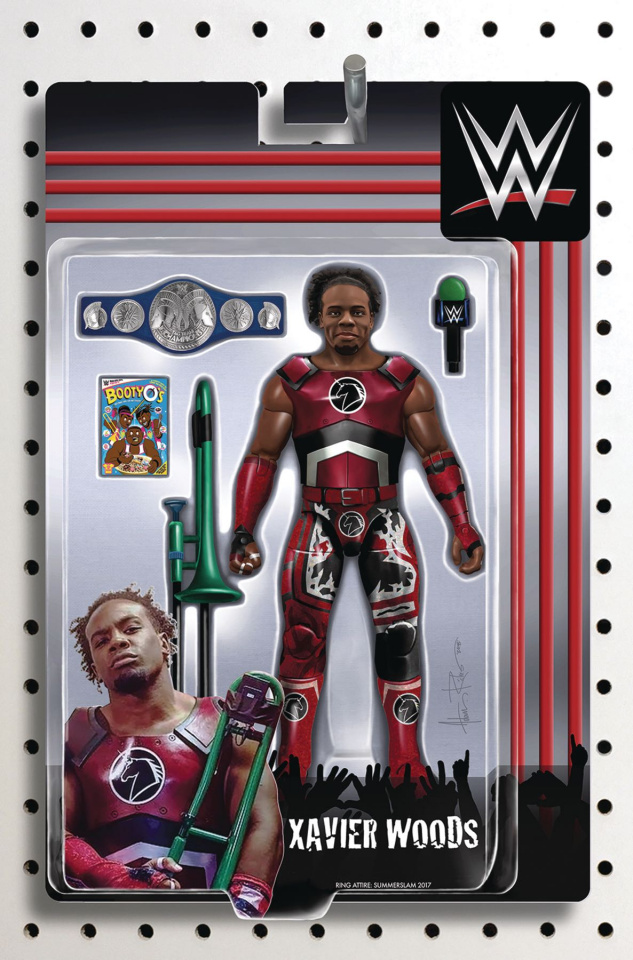 WWE #17 (Riches Action Figure Cover)