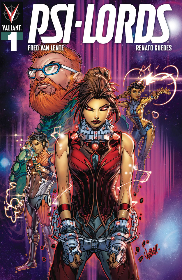 Psi-Lords #1 (Meyers Cover)