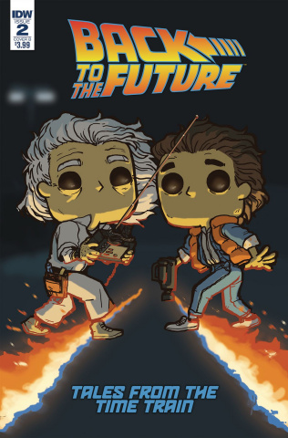 Back to the Future: Tales from the Time Train #2 (Funko Wolfe Cover)
