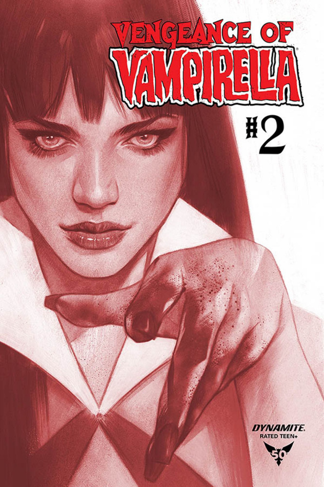 Vengeance of Vampirella #2 (11 Copy Oliver Tint Dressed Cover)