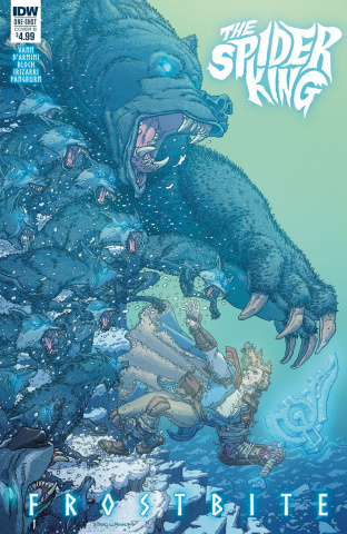 The Spider King: Frostbite (Penalta Cover)