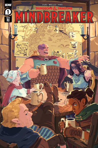 Dungeons & Dragons: Mindbreaker #1 (10 Copy Lowen Cover)