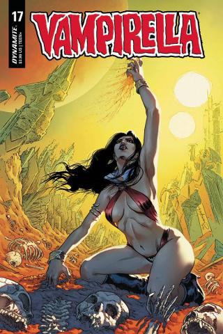 Vampirella #17 (Timpano Cover)
