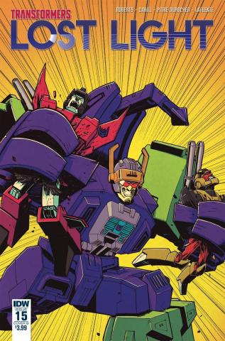 The Transformers: Lost Light #15 (Roche Cover)