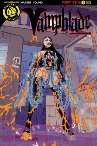 Vampblade #1 (5 Copy Goo Cover)