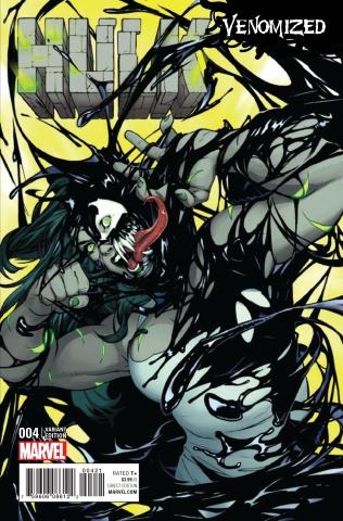 Hulk #4 (Lupacchino Venomized Cover)
