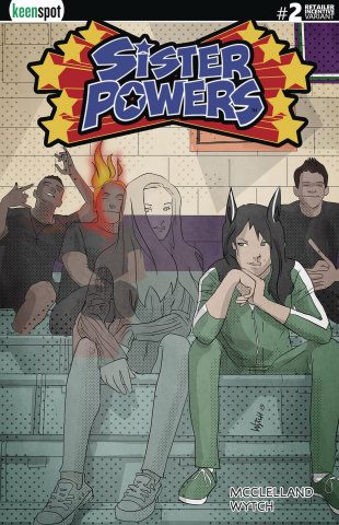 Sister Powers #2 (5 Copy Transformed Cover)