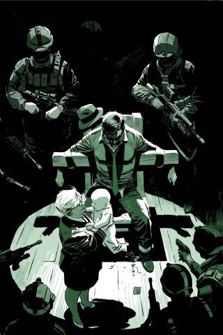 Green Hornet #4 (Weeks Virgin Cover)