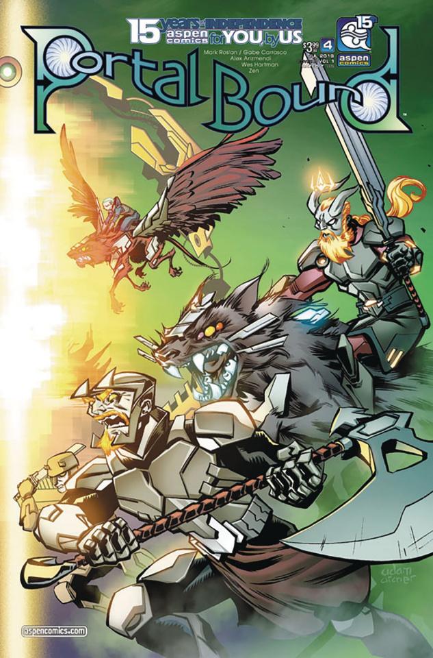 Portal Bound #4 (Archer Cover)
