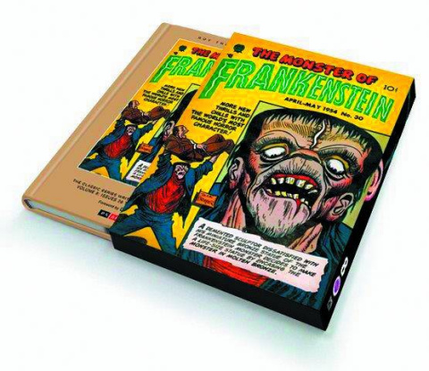Briefer: Frankenstein Slipcase 1954