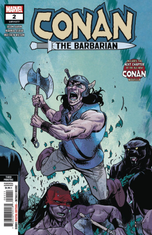 Conan the Barbarian #2 (Asrar 3rd Printing)