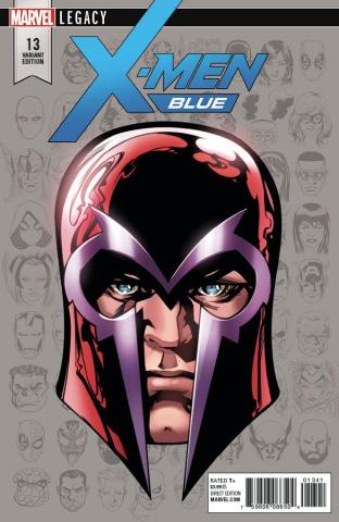 X-Men: Blue #13 (McKone Legacy Headshot Cover)