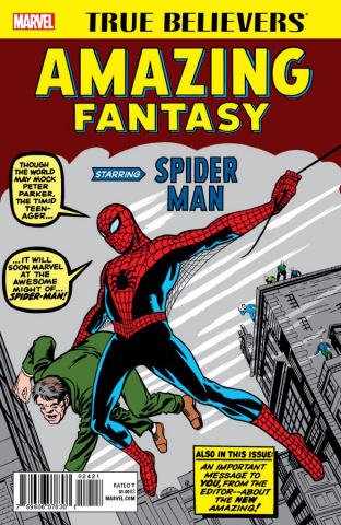 Amazing Fantasy Starring Spider-Man #1 (True Believers)