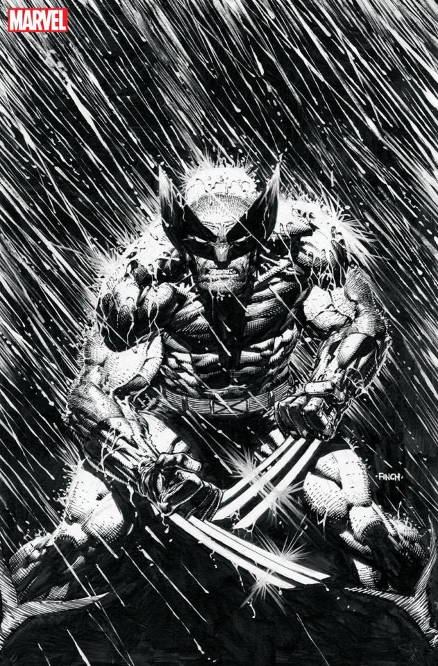 Wolverine #2 (Finch Inks Virgin Cover)