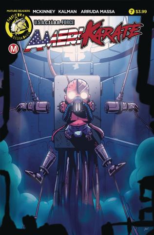 Amerikarate #7 (Roth Cover)