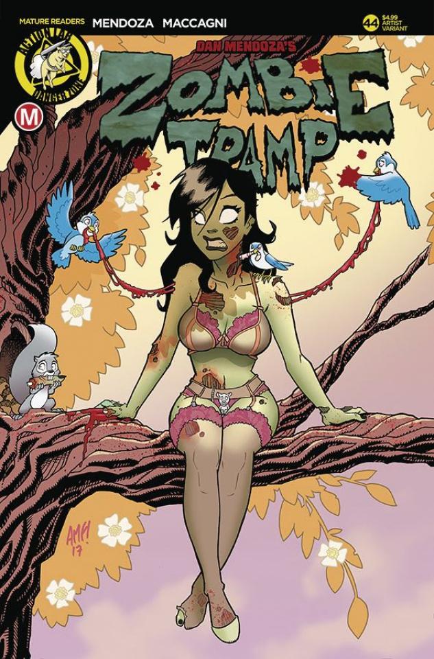 Zombie Tramp #44 (Fleecs Cover)
