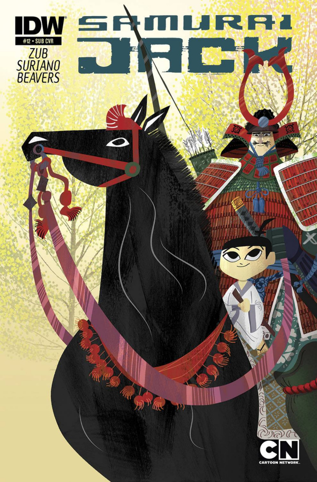 Samurai Jack #12 (Subscription Cover)