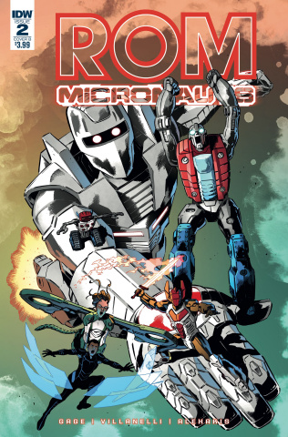 ROM & The Micronauts #2 (Gallant Cover)