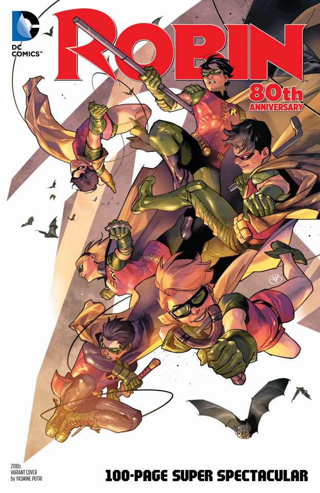 Robin 80th Anniversary 100 Page Super Spectacular #1 (2010s Putri Cover)