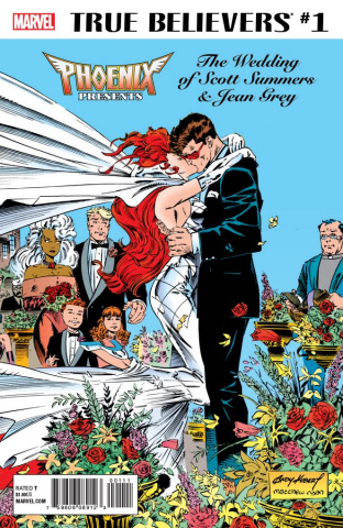 Phoenix Presents: The Wedding of Scott Summers & Jean Grey #1 (True Believers)