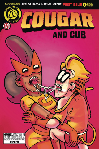 Cougar and Cub #1 (Gross Love Cover)