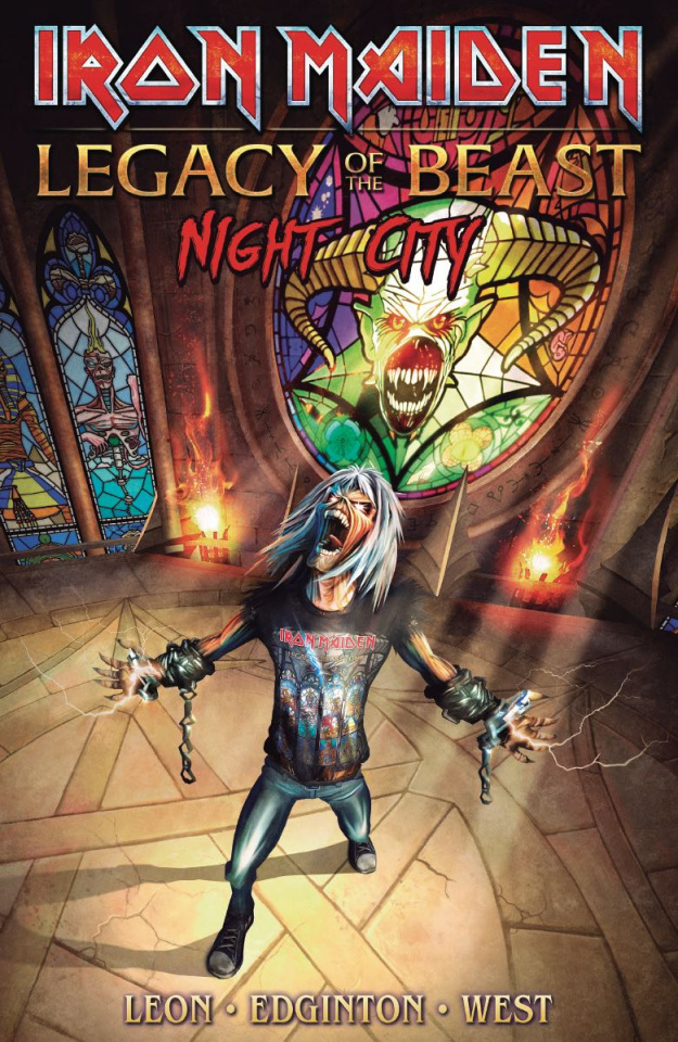 Iron Maiden: Legacy of the Beast Vol. 2: Night City