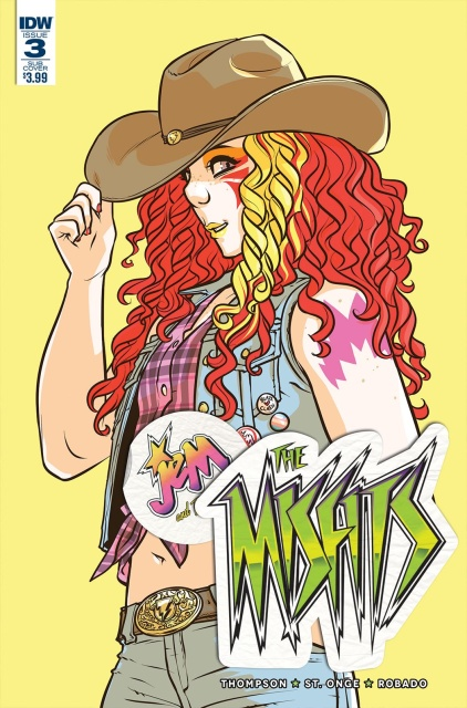 Jem and The Misfits #3 (Subscription Cover)