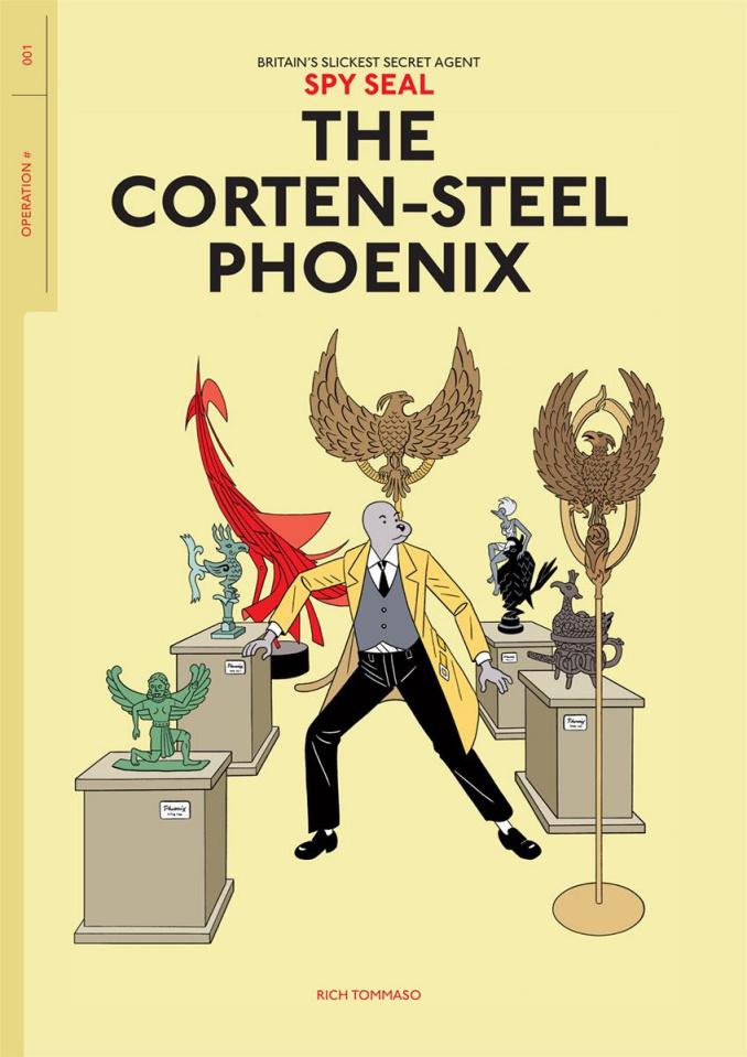 Spy Seal Vol. 1: The Corten-Steel Phoenix