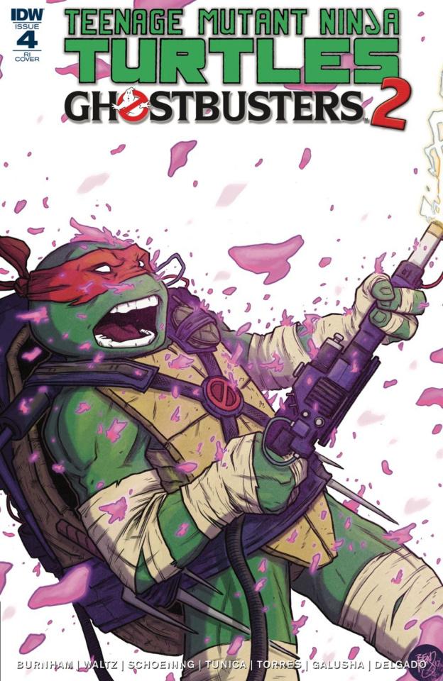 Teenage Mutant Ninja Turtles / Ghostbusters 2 #4 (10 Copy Cover)