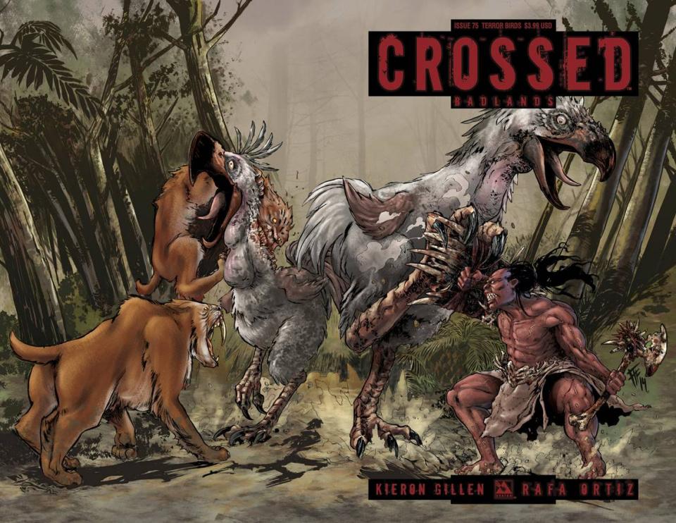 Crossed: Badlands #75 (Terror Birds Cover)