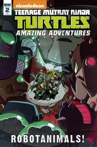 Teenage Mutant Ninja Turtles: Amazing Adventures - Robotanimals #2 (10 Copy Cover)