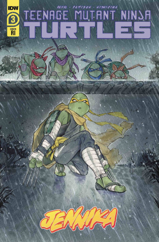 Teenage Mutant Ninja Turtles: Jennika #3 (10 Copy Momoko Cover)