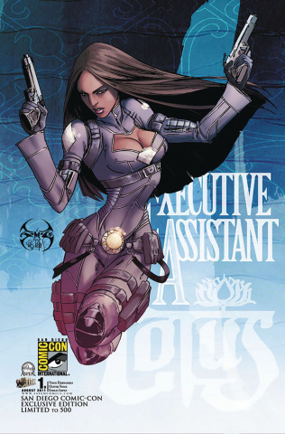 Executive Assistant Lotus #1 (San Diego 2011 Cover)