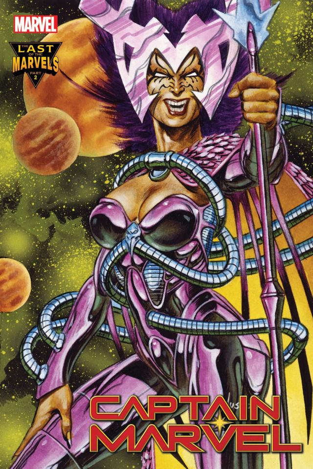 Captain Marvel #33 (Jusko Marvel Masterpieces Cover)