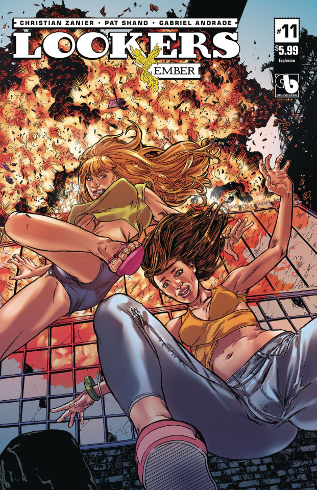 Lookers: Ember #11 (Explosive Cover)