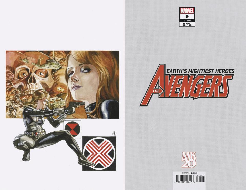 Avengers #9 (Jones Virgin Cover)