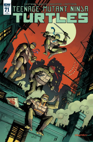 Teenage Mutant Ninja Turtles #71 (10 Copy Cover)